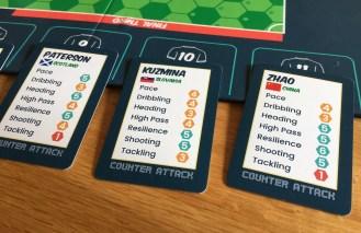 close-up player cards