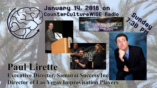 Paul Lirette on CCW Radio!