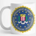Fumbling Bumbling Investigators seal mug