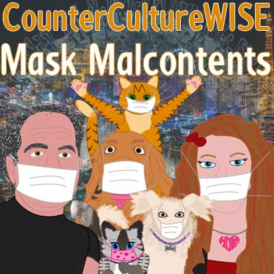 CCW crew in facemasks, against their wills.