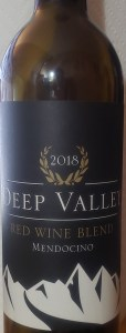 Deep Valley 2018 Mendocino Red Wine Blend