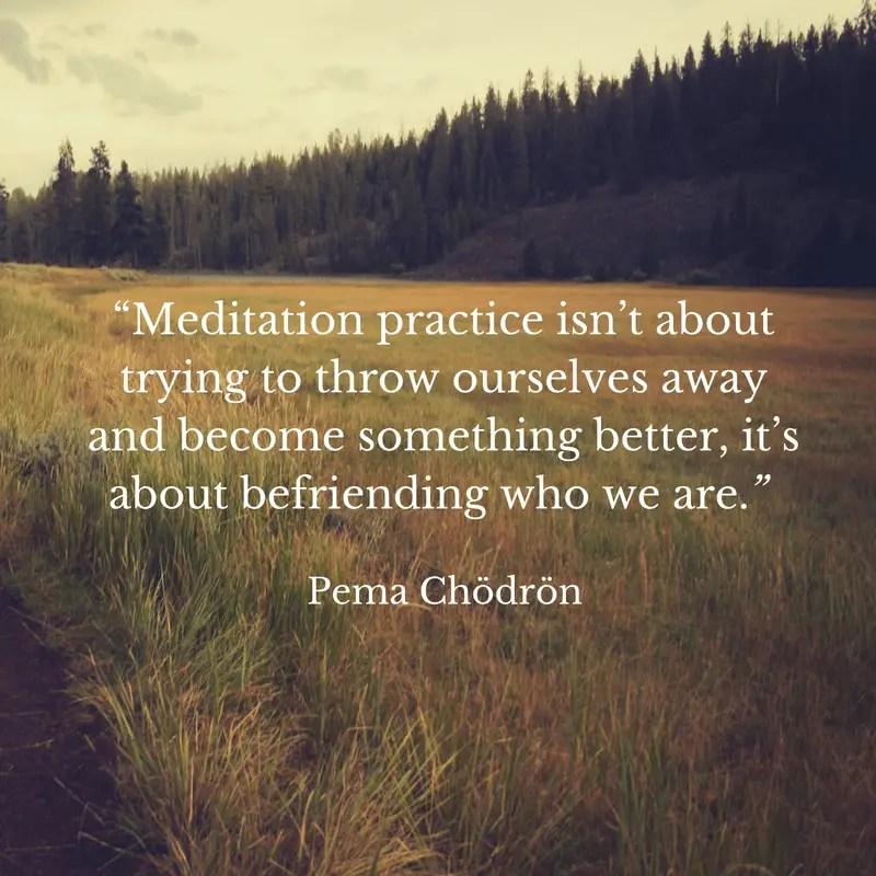 pema chodrin meditation