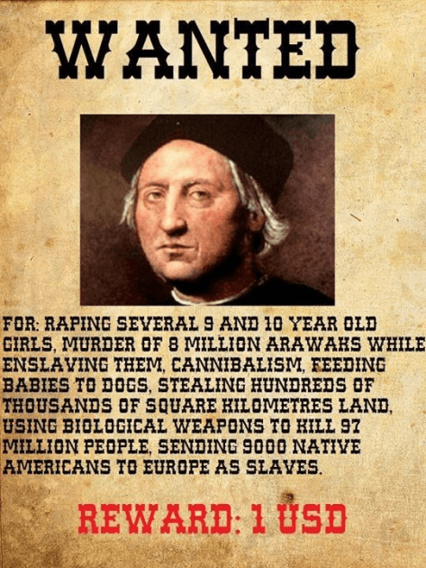 The Truth About Christopher Columbus | Countercurrents