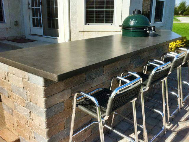 Elegant Counterevolutioncustom Concrete Countertops Dayton Ohio