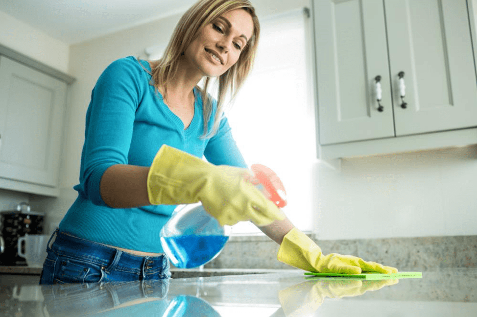 Cleaning Quartz Countertops With Window Cleaner