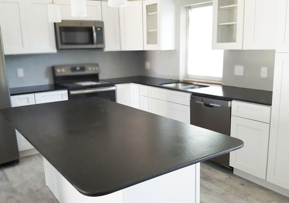 Natural Stone – Unfinished Dark Granite Countertops
