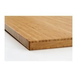 Bamboo Butcher Block Countertop Wood IKEA