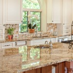 Gold Color Granite Kitchen Countertops Ideas Gold Trend