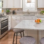 34 Best White Granite Countertops With White Cabinets