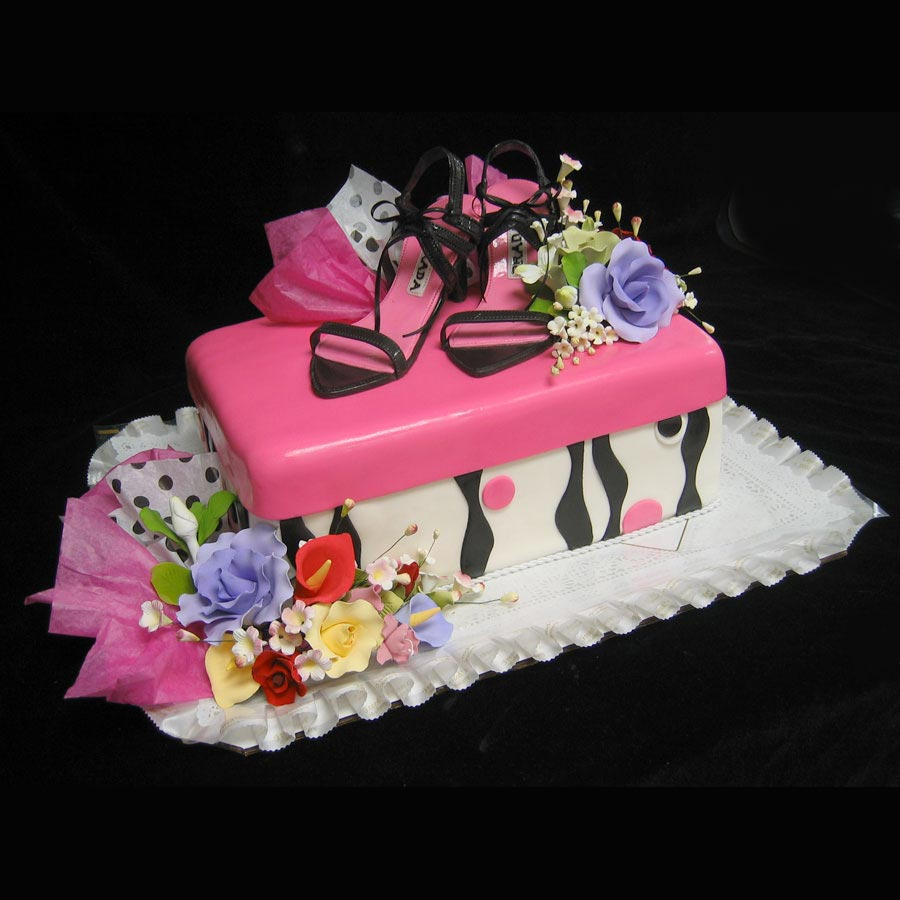 Prada Birthday Cake Counting Candles