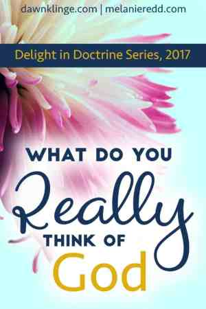 What Do You REALLY Think of God? - Dawn Klinge