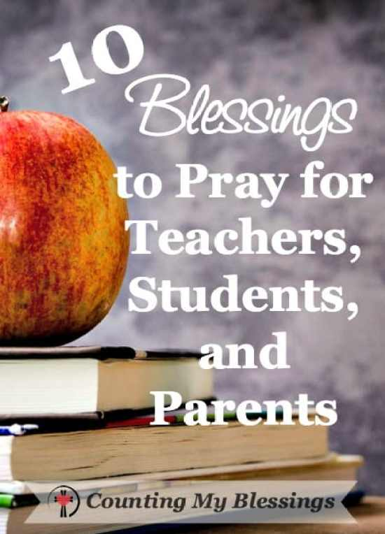 Bless the school year . . . pray for teachers, students, and parents. Homeschool, private, or public - 10 things to pray for everyone involved