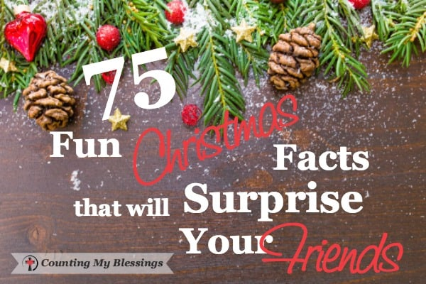 Wow, surprise your family with Christmas facts. History, Top Gifts, Etc.