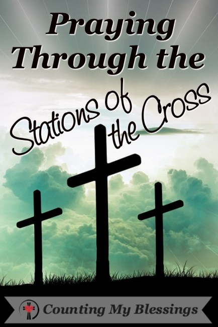 Pray through steps of Jesus as He travels the stations of the cross and ponder the extent of His love for you.