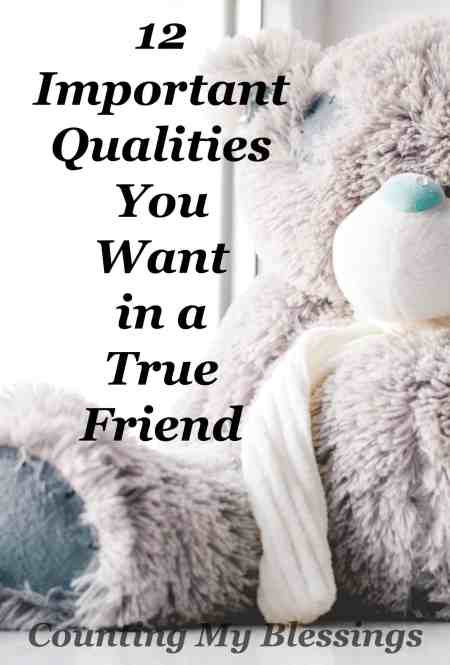 Everyone wants a true friend, but do you know what qualities are important. Do you friends have them? Do you?