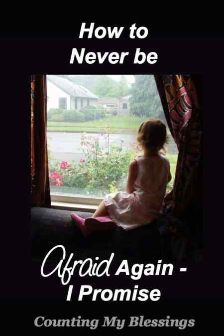 Do you struggle with fear? I understand. I spent my whole life afraid of way too much. But I have found the way to never be afraid again. Here's my story.