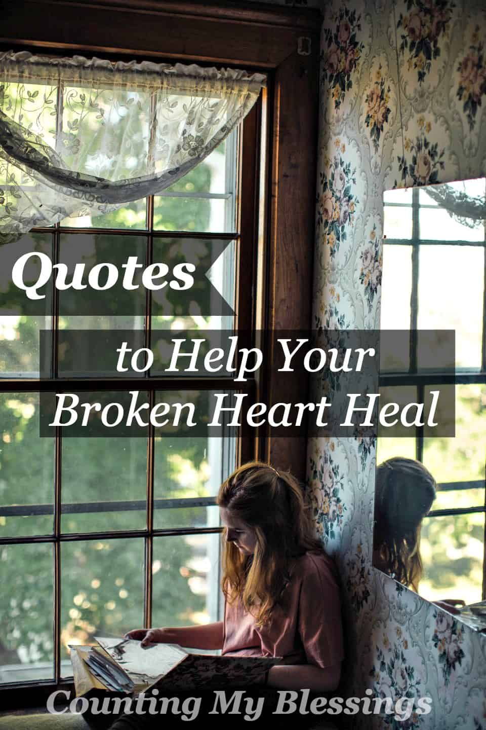 how to help a broken heart