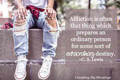 C. S. Lewis went from atheist to faith-filled writer inspiring readers to commit each day to life, hope, and relying on God. Read some of his best here..