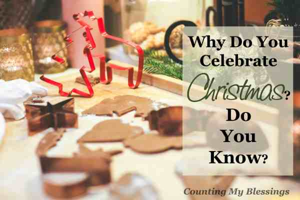 During this the busiest time of the year I'm asking myself . . . Why do you celebrate Christmas Do you know Looking at the whys behind the business...