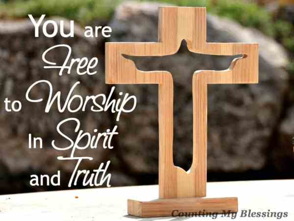 Who, what, and how you and I worship is important. Jesus said we MUST worship in spirit and truth. What does that mean? We are free to worship... but how?