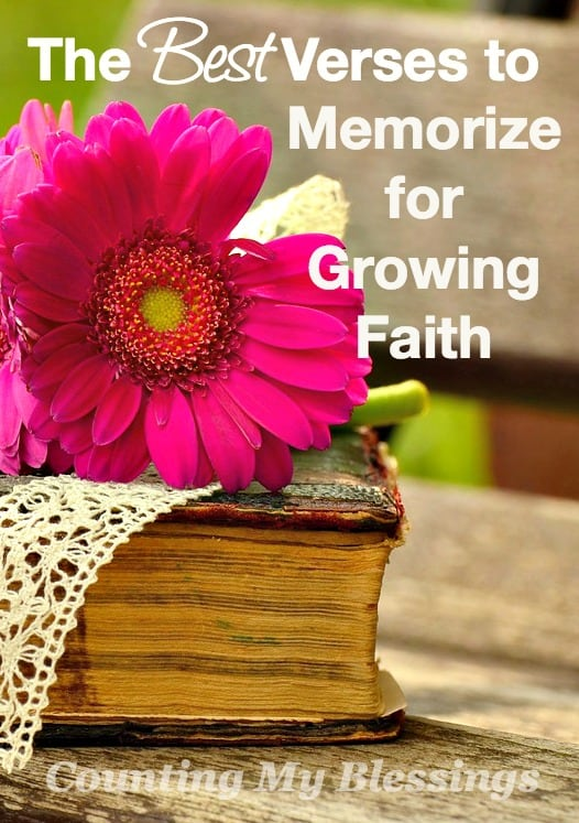 bible verses about growing up