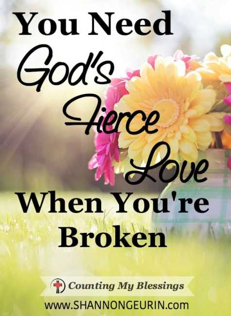 I want to be a fierce woman of God. To fight boldly and face life without fear. But... well, I fail miserably. Thankfully, God's fierce love changes that.