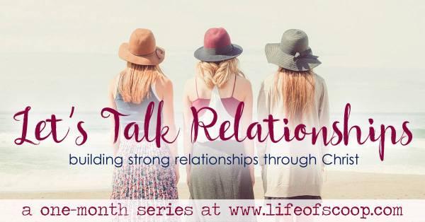 lets talk relationships FB