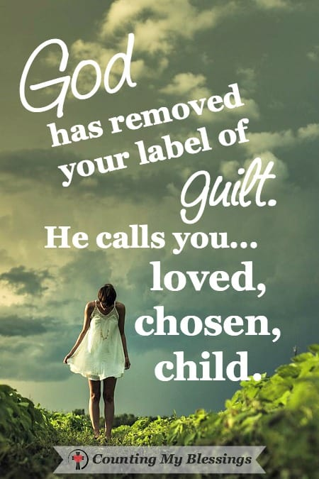 Guilt. You've got it. That thing the enemy uses to label you a failure . . . to hold you back and defeat you. God has a way you can be guilt free and have joy!