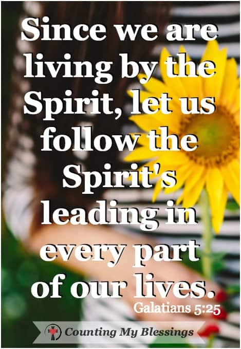 Worshipping God in spirit and truth means to worship Him with both heart and head and comes from both knowing God and loving Him. But how? Galatians 5:25