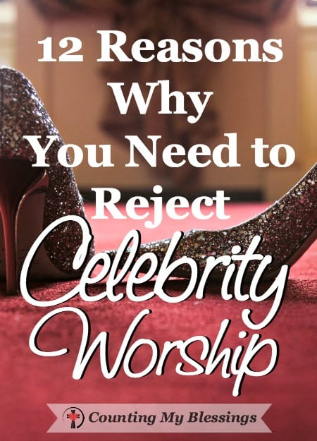I'm wondering about celebrity worship. At what point do you and I give the rich and famous too much influence in our lives? 12 questions to help you decide.