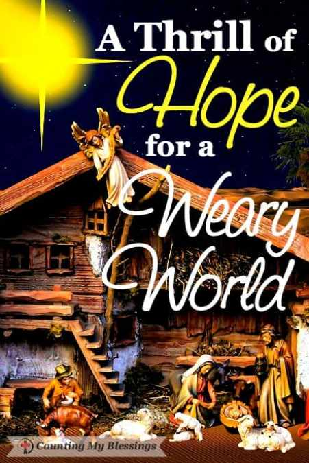 Merry Christmas, my Friend! May your heart be filled the thrill of hope found in Jesus. Praying God's blessings for you today and through the year ahead.