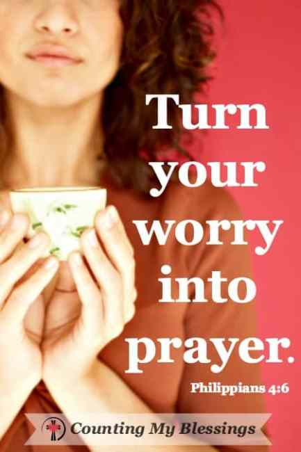 Worry is bad for your health - mentally, physically, and spiritually. These verses and prayers promise to help you stop worrying and trust God.