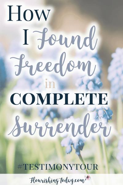 Freedom in Surrender by Alisa Nicaud
