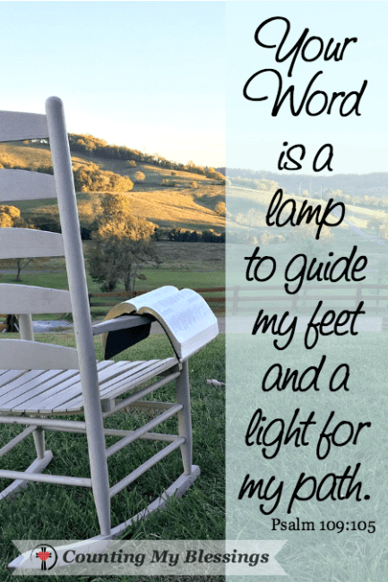 5 Verses and Prayer that will Help You Trust God More - Counting My Blessings