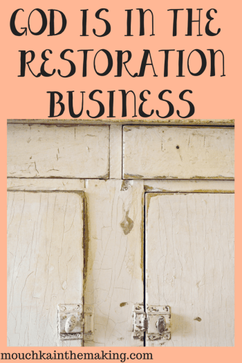 God is in the Restoration Business by Nicole Mouchka