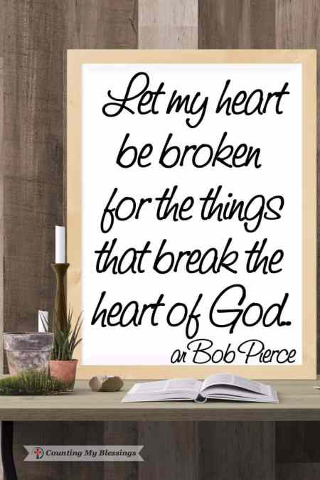 Taking My Brokenness to the One Who Can Restore Me - Counting My Blessings by Deb Wolf