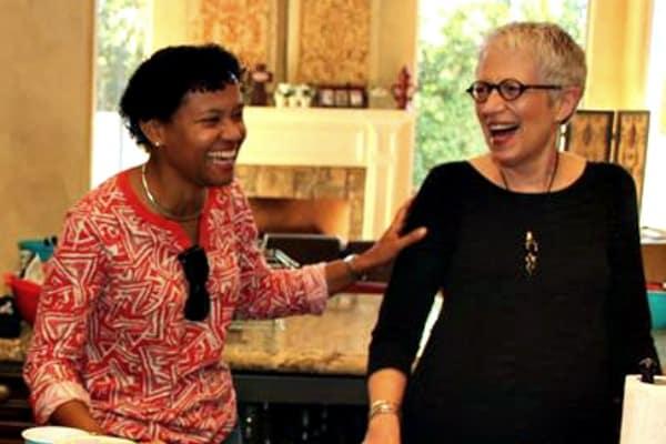 Marva and Deb - Bring Hope to Tortola - Marva Smith