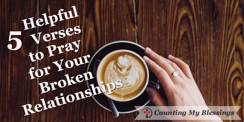 Prayer for fixing relationships