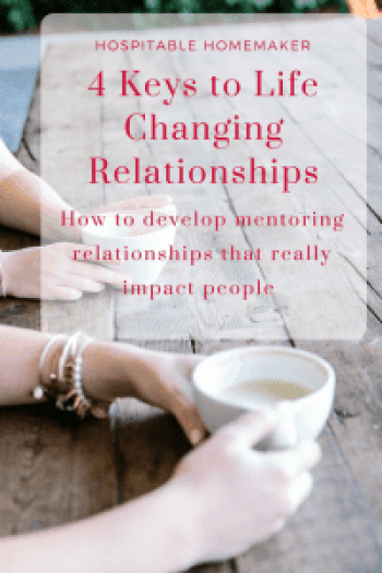 4 Keys to Life Changing Relationships by Katie Deckert