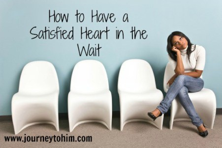 How to Have a Satisfied Heart in the Wait by Pam Blosser