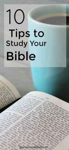 10 Tips to Study Your Bible by Lauren