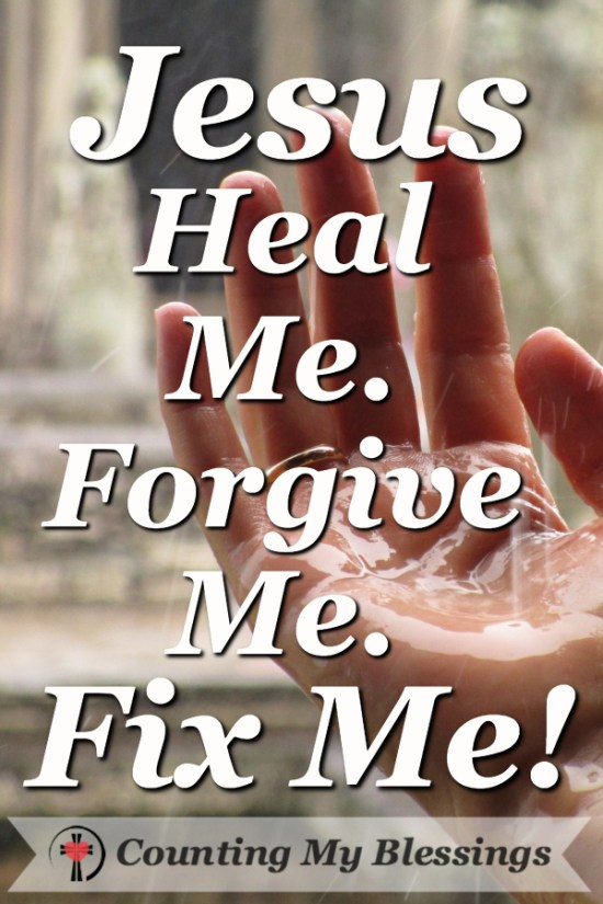 Why I Need to Worship and Pray - Jesus Fix Me by Deb Wolf @ Counting My Blessings