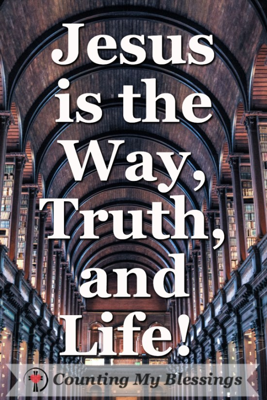 Jesus said, I am the Way, the Truth, and the Life. Is He the only way? #Faith #Christianity #Jesus