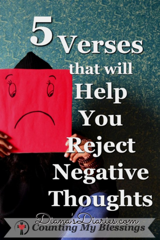 Sometimes painful memories and present problems flood our minds. By God's grace, He is able to help us reject negative thoughts and give us joy!