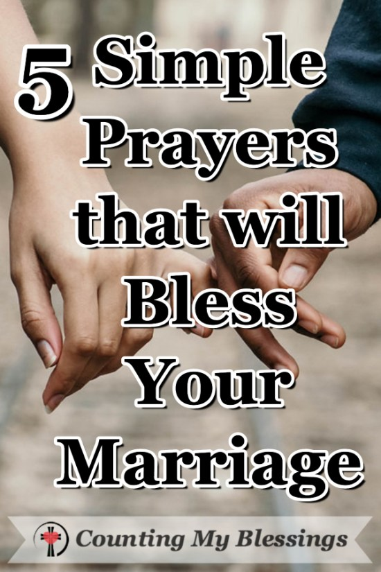 Following helpful tips and suggestions can bless your marriage but the most important thing you can do for your marriage is—PRAY! #Marriage #Prayer #CountingMyBlessings