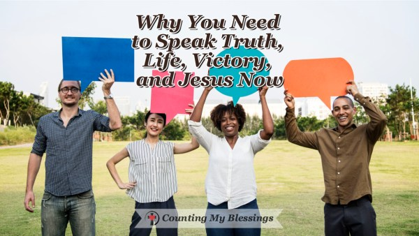 Opinions are dividing people and hurting our relationships. We need to speak truth, life, and victory ... we need to speak the love of Jesus.