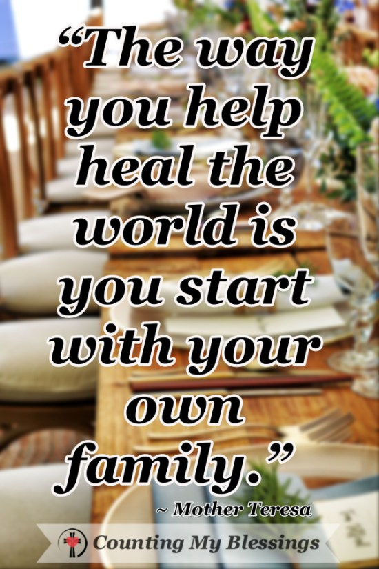 the past can get in the way of loving our families well but there are ways