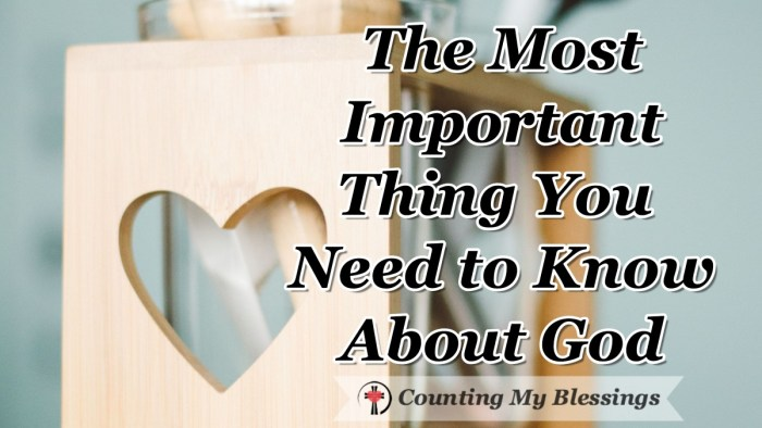 "Rev asked me recently, ""What is the most important thing you'd want someone to know about God from your story?"" This is my answer... #Faith #God #CountingMyBlessings"