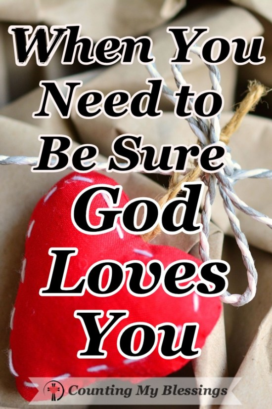 Love is a fickle thing. Imperfect people love imperfectly. But God loves you perfectly. Here are 4 Ways that will show you just how much! #Godislove #Bible #Faith #ChristianCommunity #BlessingCounter