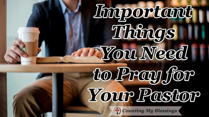 Living in the clergy fishbowl is hard. Here is a list of things to pray for your pastor that will positively bless them and their family.